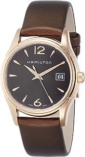 Hamilton Jazzmaster Brown Dial Ladies Watch H32341975