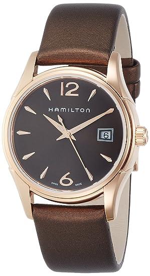 Hamilton Reloj Analogico para Mujer de Cuarzo con Correa en Tela H32341975: donna: Amazon.es: Relojes