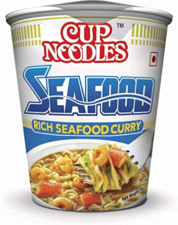 Nissin Cup Noodles, Seafood, 70g