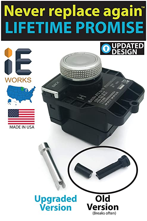 MADE IN USA Mercedes-Benz COMAND Scrolling Issue Repair (Shaft Only)  Replacement Shaft Fixes Console Controller Knob Radio GPS Navigation  Multi-Switch