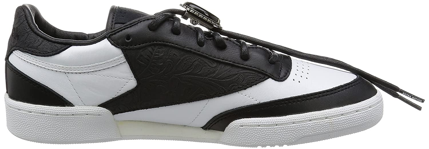 411e04cc6e9 Reebok Mens Classics Mens Extra Butter Club Trainers in White Black - UK  11  Amazon.co.uk  Shoes   Bags