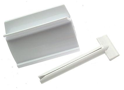 Soporte de tubo exprimidor y gran pintura tubo exprimidor 100 mm tubo escurridor