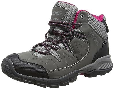 Lady Holcombe, Womens Low Rise Hiking Shoes, Grey (Steel/Vivaci), 8 UK (42 EU)Regatta