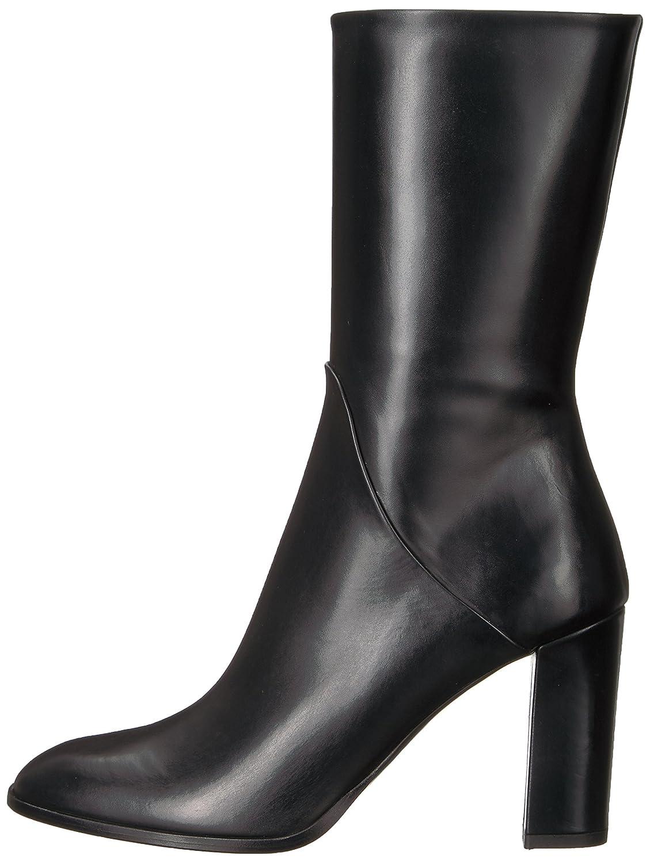 Via Spiga Women's ADRINNA Boot B06XGS8R7H 10 M M 10 US|Black Leather d43084