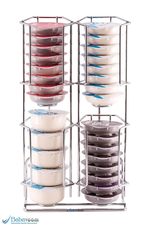 Dispensador de cápsulas tassimo, 32 cápsulas |Garantía Babavoom | Se puede montar en la pared: Amazon.es: Hogar