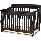 Delta Children Canton 4-in-1 Convertible Crib, Dark Chocolate