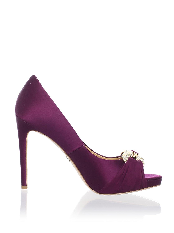 dbc41827ab55 Amazon.com: Badgley Mischka Platinum Women's Janni Open-Toe Pump: Badgley  Mischka: Shoes
