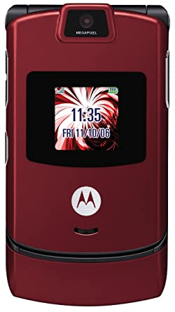amazon com motorola razr v3m red sprint cell phones accessories rh amazon com Verizon Motorola V3M Motorola V3m Charger