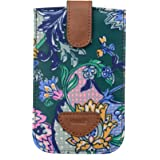 Oilily French Paisley Smartphone Pull Case Emerald