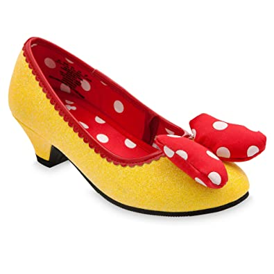 85ff506b709f Disney Minnie Mouse Costume Shoes for Kids - Yellow Size 11 12 YTH Yellow