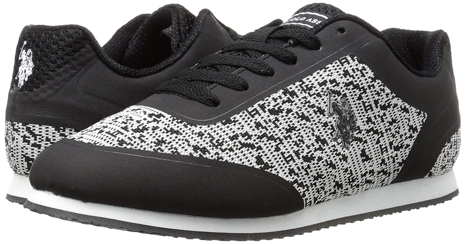 U.S. Polo Assn. 8.5 Women's Women's Nancy-k Fashion Sneaker B01M3MPY3Z 8.5 Assn. B(M) US|Black/Grey e54b93