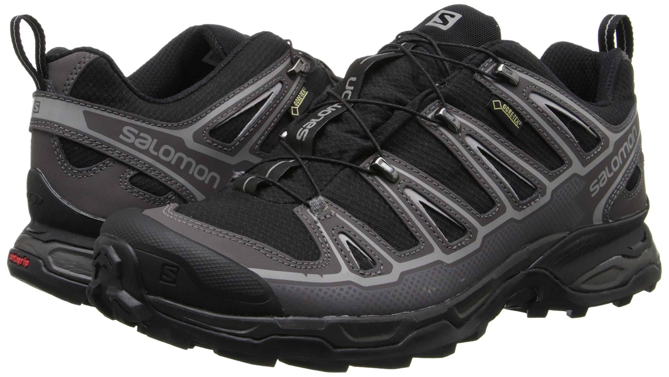 Salomon Men's X Ultra 2 GTX Hiking Shoe, Black/Autobahn/Aluminum, 7 M US by Salomon (Image #6)