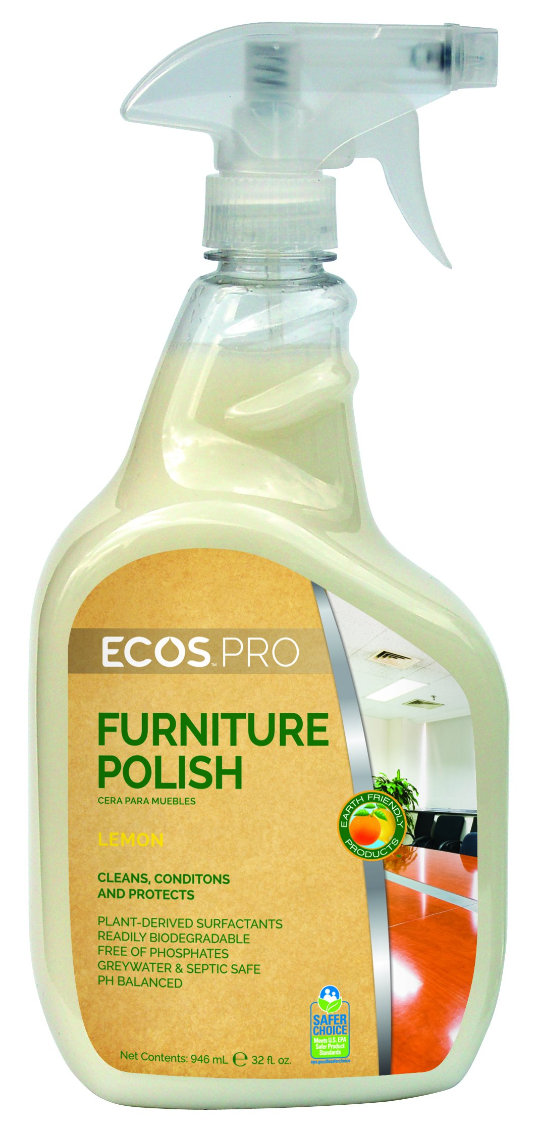 ECOS PRO PL9731/6 Furniture Polish (Pack of 6)