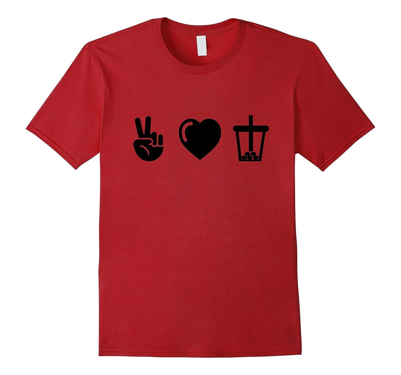 Peace Love Boba, Official BOBA TEES t-shirt-FL