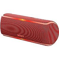 Sony SRS-XB21 Extra Bass Waterproof Wireless Speaker with Bluetooth, Red