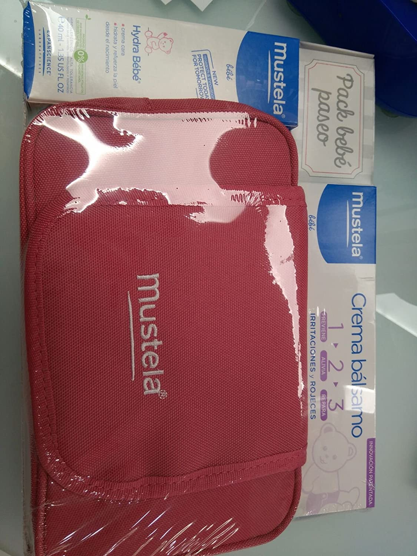 Pack Bebe Paseo Mustela Gris o Rojo: Amazon.es: Salud y cuidado personal