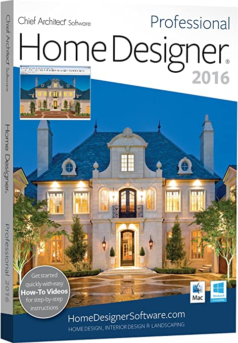 Home Designer Pro 2016 (PC/Mac): Amazon.co.uk: Software