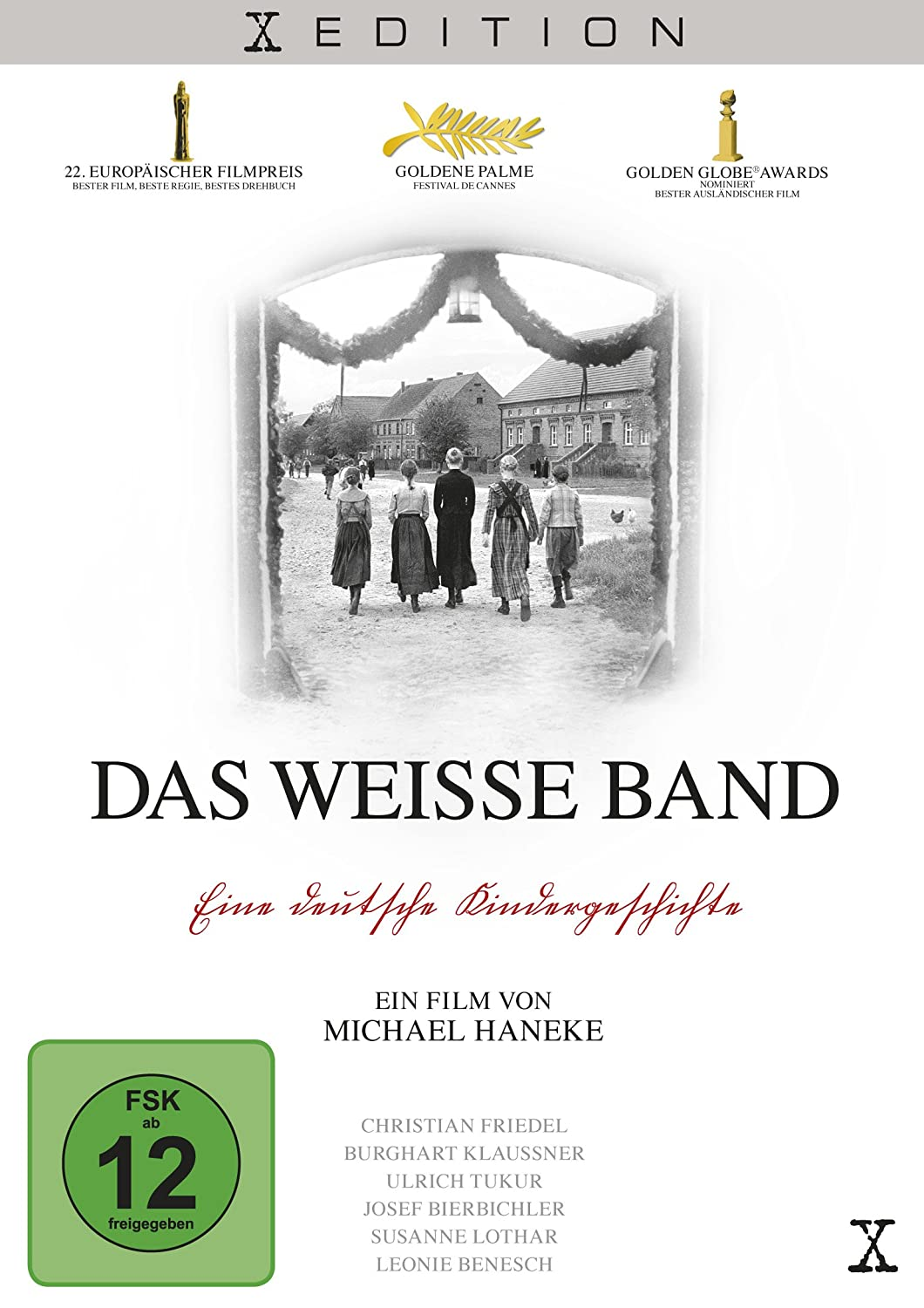 Das weiße Band [Deluxe Edition] [2 DVDs]: Amazon.de: Christian Friedel,  Ernst Jacobi, Leonie Benesch, Michael Haneke, Christian Friedel, Ernst  Jacobi: DVD & Blu-ray