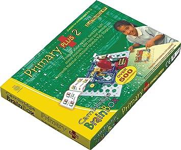 Cambridge Brainbox Juego de experimentos sobre electrónica Primary Plus 2: Amazon.es: Juguetes y juegos