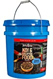 "Blue Ridge Fish Food Pellets [14lb], Koi and Goldfish Growth Formula, Mini 1/8"" Floating Pellet, Balanced Diet"