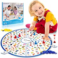 Lukat Educational Large Educational Fast Memory Board Game for Family Kids Toddlers