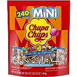 Chupa Chups Lollipops, Mini Assorted Flavours, 240 Count