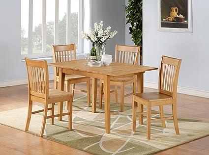 Merveilleux 5PC Rectangular Kitchen Dinette Set Table U0026 4Chairs