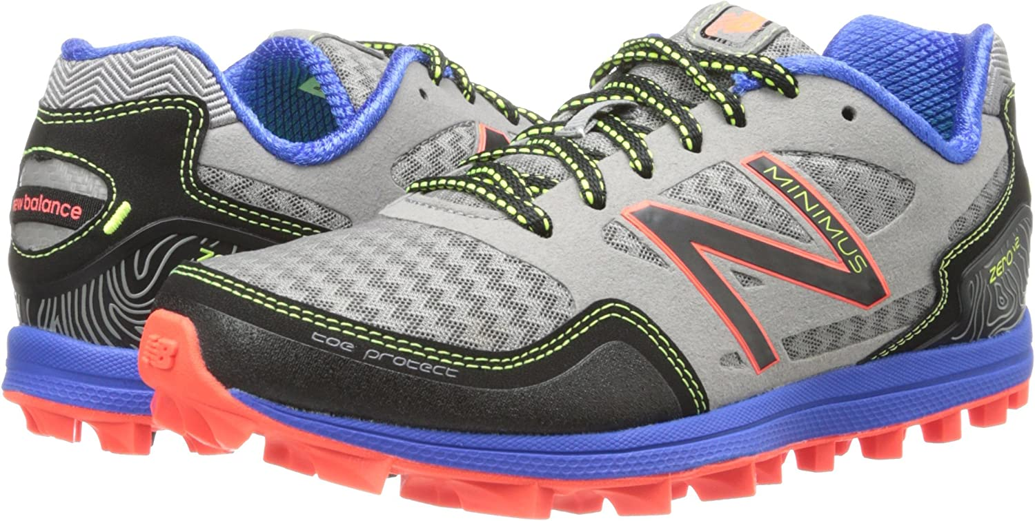New Balance Mt10bo2 - Zapatillas de Running para Hombre, Color Plateado, Talla 36 EU: Amazon.es: Zapatos y complementos