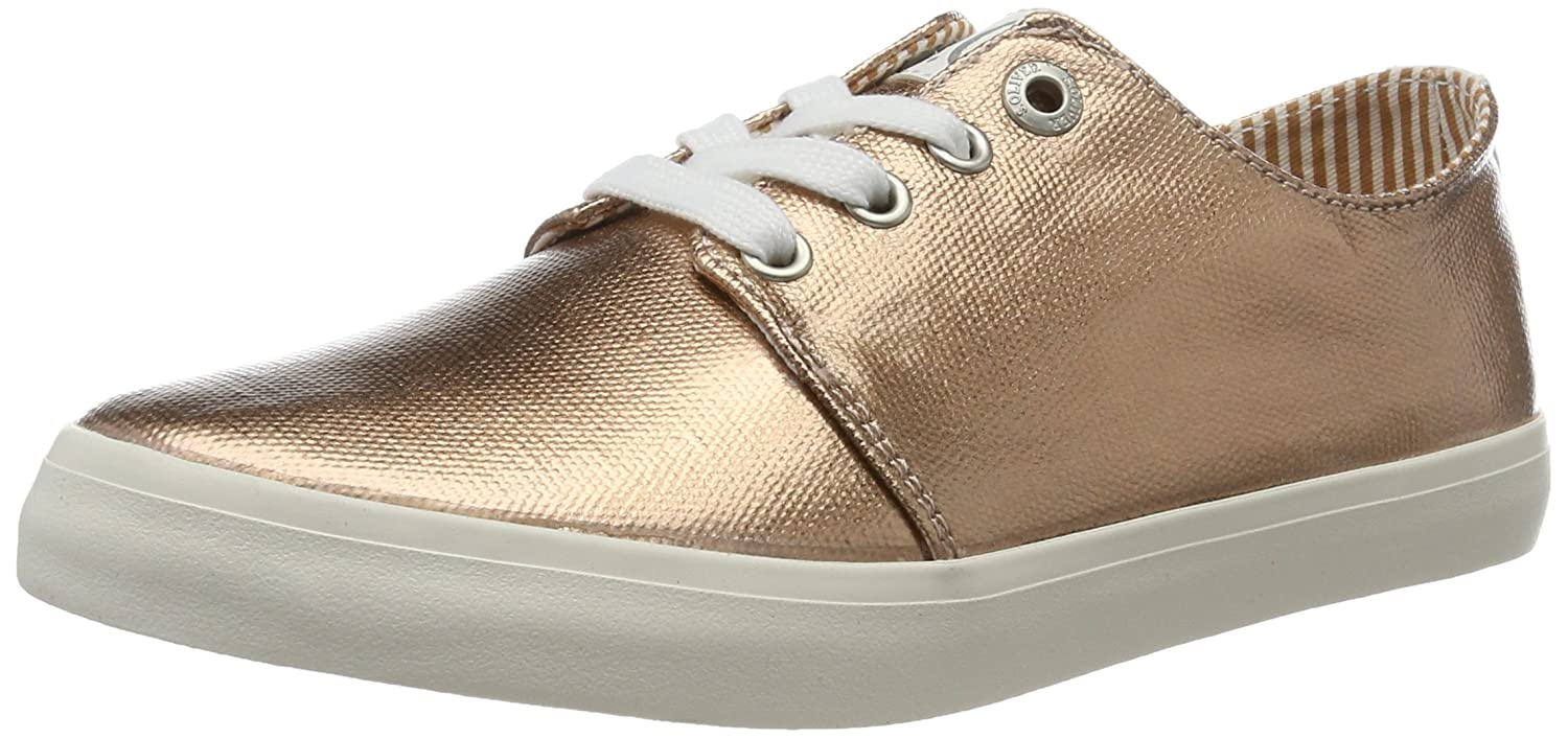 Womens 23606 Low-Top Sneakers, Silver s.Oliver