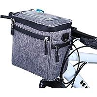 Wildken Waterdichte fietstas voor stuur met afneembare schouderriem