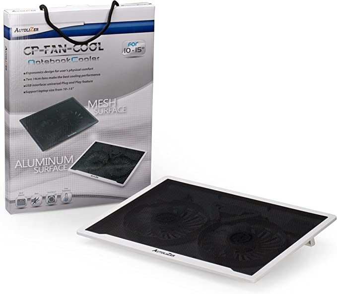 "HAVIT HV-F2056 15.6/""-17/"" Laptop Cooler Cooling Pad Ultra Slim Portable .. New"