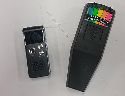 EVP RECORDER Plus K-2 DELUX Paranormal Research Tools
