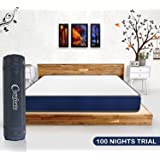 Comforto Siesta 8 inch Pocket Spring King Size Mattress (78x72x8 inch, Pocket Spring) - Mattress in a Box