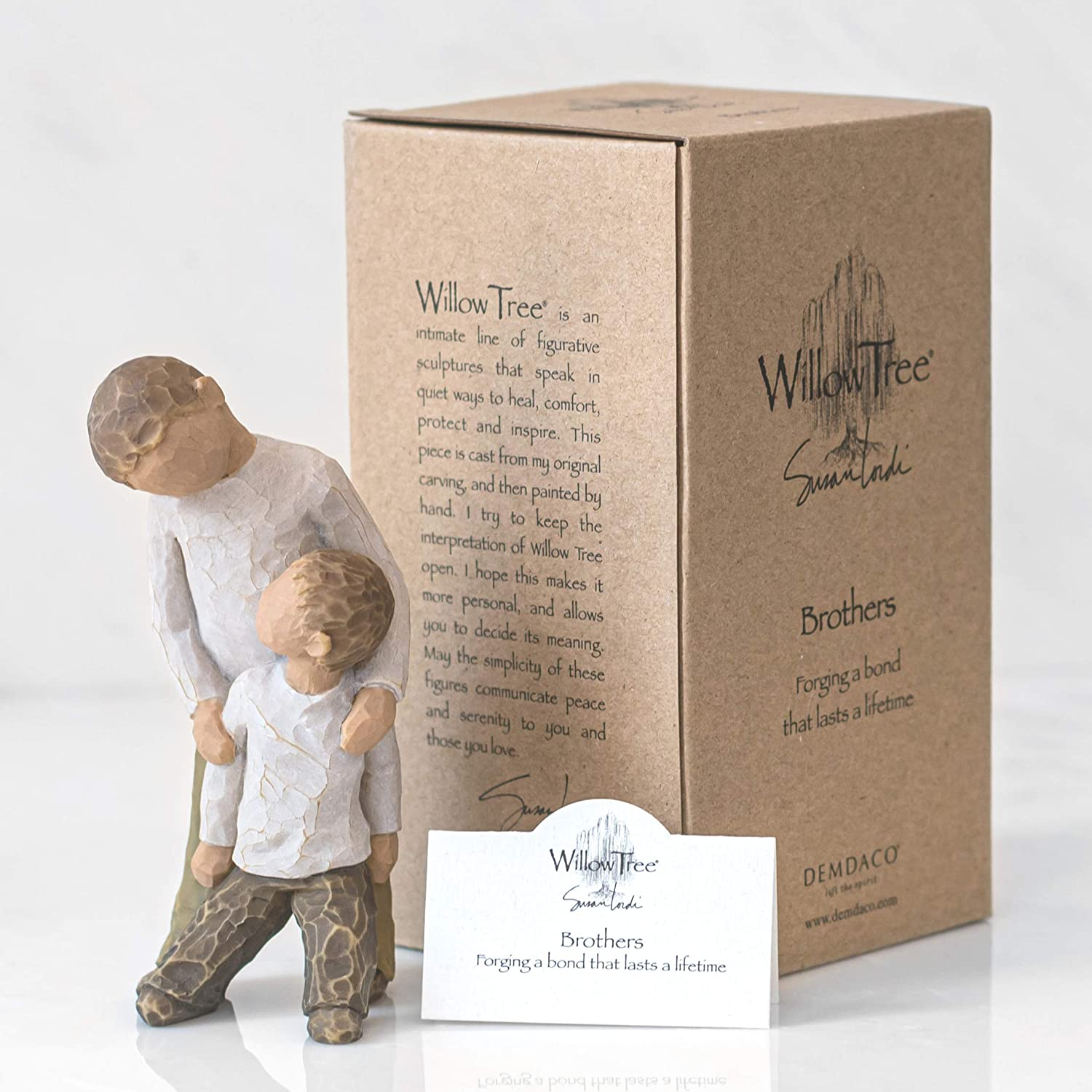 Willow Tree Figure Ornament 26056 BROTHERS Figurine NEW in BOX