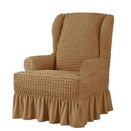 Amazon.com: Funda para silla elástica de Suprtex, con ...