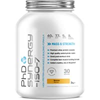 PhD Nutrition Synergy ISO-7 All-in-One Protein Powder, Banana, 2 kg