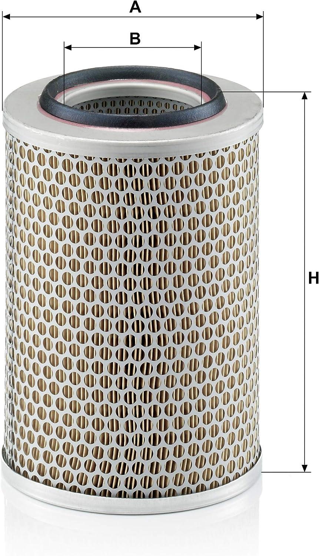 Original Mann Filter Luftfilter C 17 201 Für Nutzfahrzeuge Auto