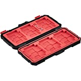 Amazon Basics Memory Card Carrying Case Holder 24 Slots for SD and Micro SD Cards