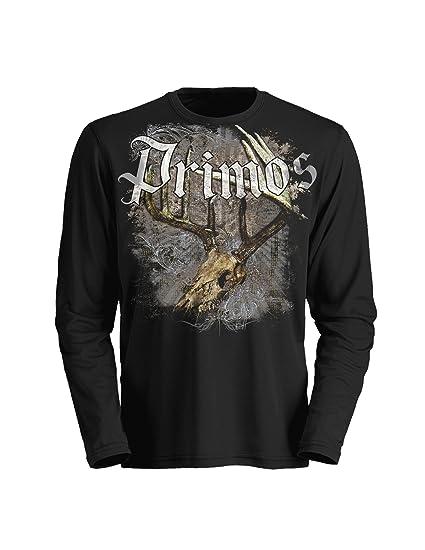9bc579ba36fe5 Amazon.com : Primos Hunting Affliction Thermal Long Sleeve T-Shirt, Black,  Large : Fashion T Shirts : Sports & Outdoors