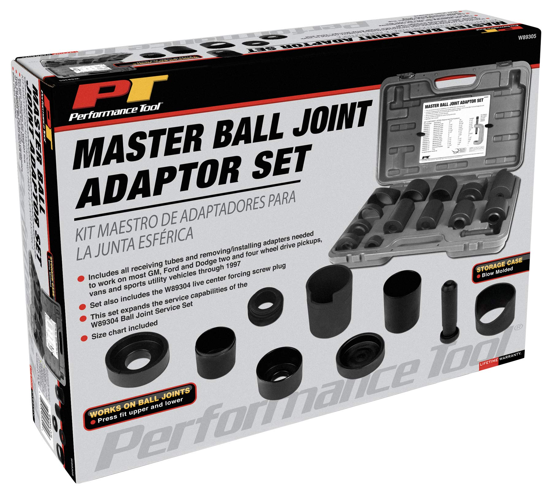 Performance Tool W89305 Master Ball Joint Adapter Set by Performance Tool (Image #4)