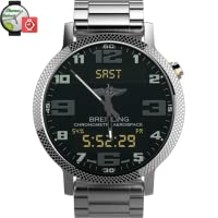 Breitling Aerospace World Timer Watch Face Android wear