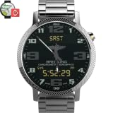 Breitling Aerospace World Timer Watch Face Android wear wmwatch