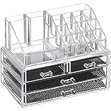 Feibrand Caja acrílica para cosméticos, 20 compartimentos