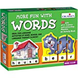 Creative Educational Aids P. Ltd. More Fun With Words Puzzle (Multi-Color)