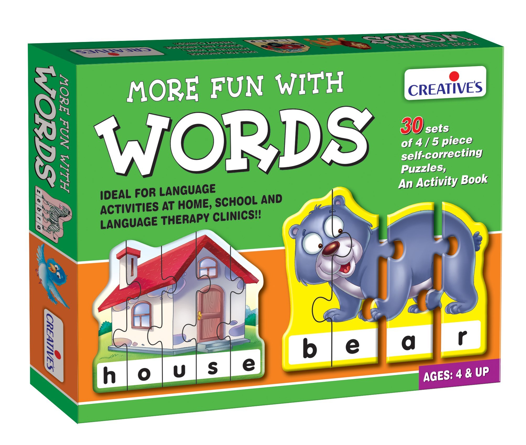 Creative's More Fun with Words Puzzle (Multi-Color) product image