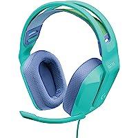 Logitech G335 Auriculares con Cable para Gaming, Micrófono Volteable, Jack de 3.5mm, Almohadillas de espuma…