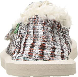 NEW Sanuk Kids Lil Donna Ice Chill Slip On Loafers White Multi Size 1