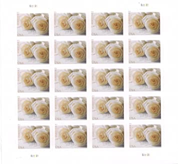 Buy Wedding Roses Sheet Of 20 X Forever Us Postage Stamps