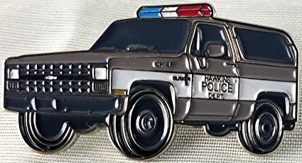 aa8e56fd Amazon.com : Stranger Things - Hawkins Police Car Pin : Everything Else