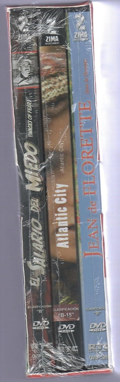 Amazon.com: Grandes Directores Franceses Vol 1. Paquete con 3 Peliculas 1.- EL SALARIO DEL MIEDO (THE WAGES OF FEAR) 2.- JEAN DE FLORETTE 3.